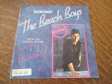45 tours THE BEACH BOYS kokomo (from the cocktail soundtrack LP version)