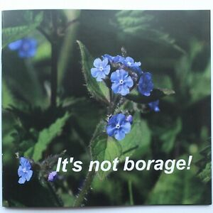 'IT'S NOT BORAGE' LOCAL GUIDE TO WILD FLOWERS BOOKLET FULL COLOUR NEW ORIGINAL