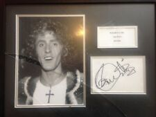 Roger Daltrey SIGNED autographed photo display The Who