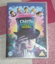 CHARLIE AND THE CHOCOLATE FACTORY---JOHNNY DEPP dvd