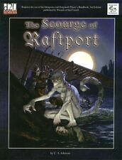 D20 The Scourge of Raftport MKY 11108 Module lvl 8-9 D&D RPG