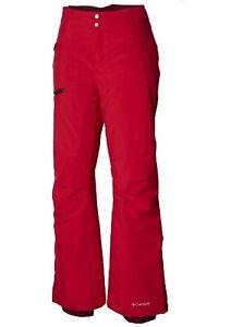 Women's Plus Columbia Omni Heat Insulated Wildside Ski Pants Red NWT 3X