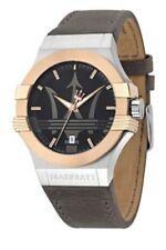 Relojes de pulsera Classic Leather de cuero resistente al agua