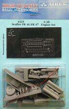 AIRES 1/48 Seafire fr.46/fr.47 Set MOTORE PER AIRFIX Kit #4323