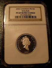 Canada 2003 Platinum 1/2 oz $150 Ngc Pf-69Uc Walrus