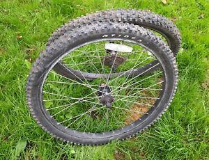 "Sun Rims Ditch Witch 26"" Wheels Shimano Hubs Tioga Tyres - Kona"