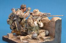 USMC Sniper team Iraq 120mm scale 1/16