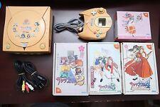 Sega Dreamcast Sakura War Console + 4 L.E games Japan import DC system US Seller