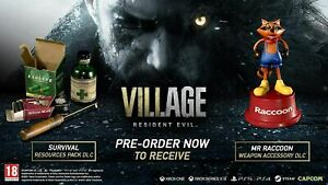 Resident Evil 8 Village Pre-Order Bonus DLCs Pack [No Game] for PS5 / PS4