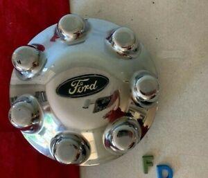 SALE #FD (1) 1997 -2004 Ford F150 F250 7 Lug Chrome OEM Center Cap F75A-1A096-Bd