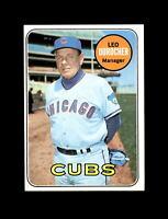 1969 Topps Baseball #147 Leo Durocher MG (Cubs) NM