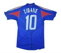 France 2004-06 Authentic Home Shirt Zidane #10 (Excellent) S Soccer Jersey