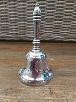 Vintage Yeoman Silver Plated on Brass Bell Made in England