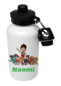 Paw Patrol - Personalised Kids/Drinks/Sports Childrens Water Bottle