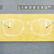 LINDBERG NOW 6522 50 C01 CLEAR CRYSTAL RECTANGULAR EYEGLASSES SPECTACLE FRAMES