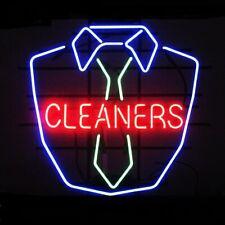 "New Laundry Cleaners Shirt Neon Sign Artwork Light Lamp Bar Pub Gift 20""x16"""