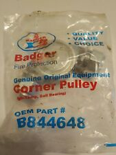 Badger Fire Protection B844648 Oem Corner Pulley. High-Temp, Ball Bearing