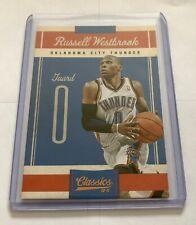 2011 Panini russell westbrook Thunder Classics 10-11 baloncesto trading card #35