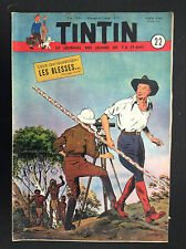 Fascicule périodique Journal Tintin N° 22 1951 BE+ Weinberg