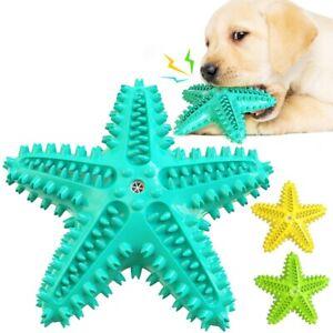 Dog Pet Toothbrush Brushing Starfish Stick Teeth Cleaning Chew Toy Oral Carel