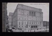 Vintage B/W Postcard - LIVERPOOL ADELPHI HOTEL - unused 47263 Grano Series