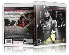 Heavy Rain - Replacement PS3 Cover and Case. NO GAME!!