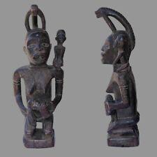 Statuette africaine maternite Bakongo