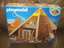Playmobil 4240 Egyptian Pyramid Large Set Still sealed in the box!!