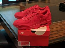 Nike Air Max 90 Triple Red BRAND NEW US 14 AUTHENTIC Nike Hot Boatfooters