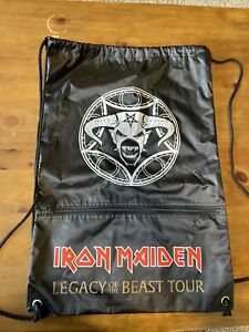 Iron Maiden Cinch / Draw String Back Pack - Legacy of the Beast Tour 2019