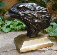 Bronze vintage Aigle Sculpture sur socle