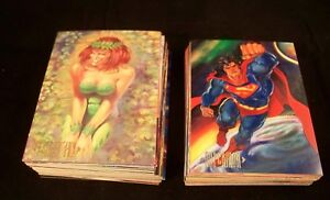 SUPERMAN MASTER SERIES   Complete Card Set  Skybox
