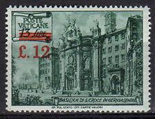 Vaticano 1952 Basiliche Soprastampato dent. 14 MNH** (084)