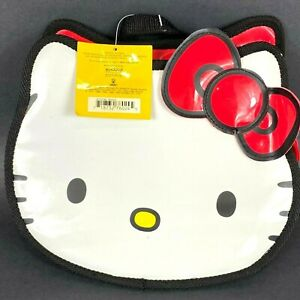 Vintage Hello Kitty Backpack Purse Sanrio Smiles 1997 Unused New With Tags NWT
