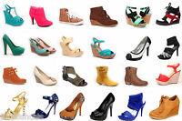 Wholesale Lot Women's Shoes Mix Match Fashion Pump Boots Sandals Sneaker Wedge