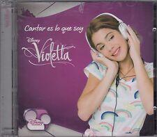 Disney Violetta Cantar es lo que soy CD+DVD New Nuevo