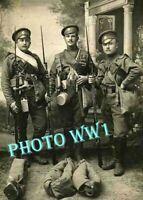 WW1 WWI GUERRE 1914-1918 Portrait  soldat Russe  1916   14/18 Krieg  WAR Poilu
