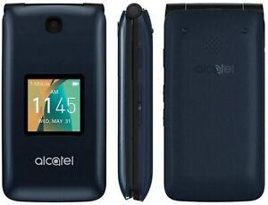 Alcatel Go Flip 4044W / 4044N - Blue (T-Mobile / MetroPCS) 4G VoLTE GSM UNLOCKED