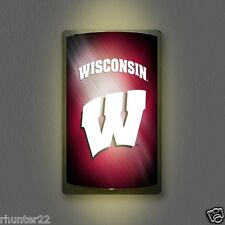 Wisconsin Badgers NCAA Licensed MotiGlow™ Light Up Sign - Free USA shipping!