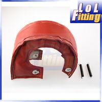 T25 T28 gt28 gt30 gt35 t37 t3 Exhaust Turbo Blanket Wrap Heat Shield Red
