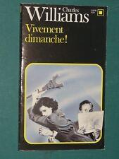 Vivement Dimanche ! Charles WILLIAMS Carré Noir 437