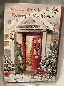 neighbours christmas card / Christmas Card For Neighbours - 2 styles