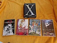 Lot-5 DVD Manga-Angel Sanctuary-Evangelion-Blood-X-Chasseur de vampires