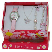 PONY HORSE WATCH & JEWELLERY CHARM BRACELET NECKLACE GIFT SET BOXED GTEE 2213