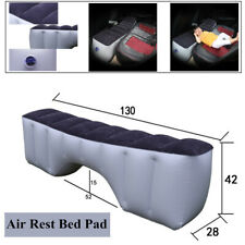 Car Air Mattress Travel Bed Flocking Inflatable Car Bed For Camping 130*42*28CM