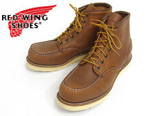 "Red Wing Heritage 875 Mens Classic 6"" Boot(Oro-iginal Leather, w/ STAMP LOGO)"