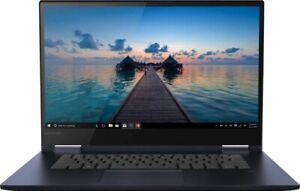 """Lenovo Yoga 730 15.6"""" Touch-Screen Laptop  Intel Core i5 12GB 256GB  Abyss Blue"""