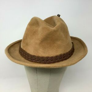 Stetson the Sovereign Hat Fedora Brown Tan 7 1/8