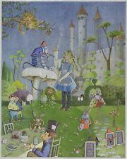 """Impresión De Imágenes De Lámina Dufex-Alicia en el país de las maravillas - 8"""" X 10"""" tamaño de imagen"""