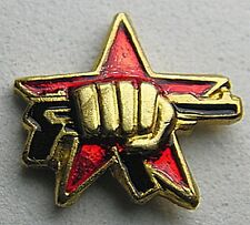 Fist & AK47 Russian Spetsnaz Special Forces Lapel Pin Badge Insignia Metal 15mm
